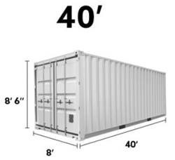 40 container