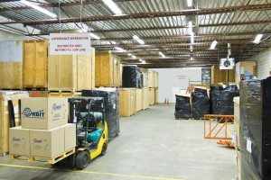Bonded warehouse for storage